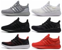 Wholesale New Arrive Mens Ultra Boost Fashion All Black White Shoes Men Sports Running shoes Ultraboost Boosts Runs Shoe Trainers