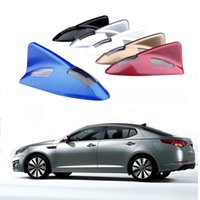Wholesale New Solar LED Car Light Shark Fin Antenna Style Decorative Lamp Car Motorcycle Warning Flash Lamp