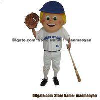 baseball mascot - Baseball Kid Mascot Costumes Cartoon Character Adult Sz Real Picture