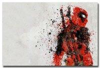 art comics - Deadpool Hero Comic Movie Art Silk Poster Pictures x36inch