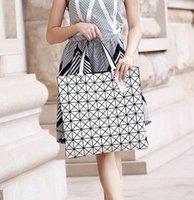Wholesale Women Fashion BAOBAO Bag Geometry Package Sequins Saser Plain Folding High Quality Handbags