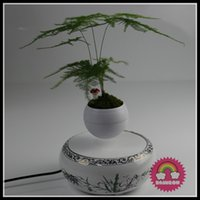 Wholesale 10 new mangetic levitation floating plant bonsai display racks maglev levitating plant display stands
