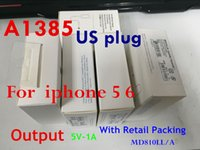 Wholesale OEM quality V A A1385 A1400 A1399 wall charger US EU UK plug W adapter home charger with retail box