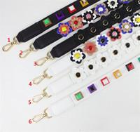Wholesale Strap You Shoulder Bag Strap Leather Flower Bag Straps Belt Long Handbag Band Replacement Strap for Handbag B1048