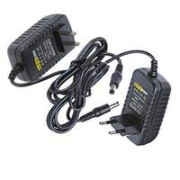 Wholesale AC V To DC V A Power Supply Converter Adapter for Led Light Strip with US EU plug H8258