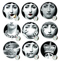 arts italy - New Sell Milan Italy Designer Fornasetti Wallpaper Wall Stickers For Wall Decoration Living Room Inch Good Effect
