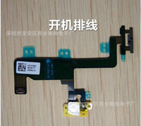 Wholesale For iphone6plus boot ribbon cable The switch machine key Flash row line Apply to apple inches Free transportation