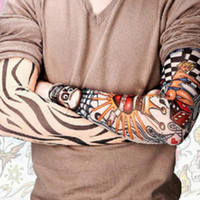 Wholesale 2016 New Details about pc Multi designs Temporary Fake Slip on Tattoos Arm Sleeves fashion Makeup Beauty