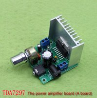 Wholesale Special A board TDA7297 Power Amplifier board noise free AC and DC V finished plate C6A3