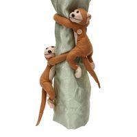 Wholesale Monkeys Curtain Buckle Tiebacks Holder Window Drapery Hooks Decoration