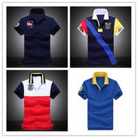 Wholesale Top quality Fashion New Style Men Polo Shirts Cotton classic Brand Short Sleeve Sport Aeronautica Militare Polo Shirts