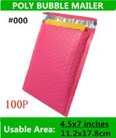 Wholesale KANA PACK PB Pink X7inches X178MM Usable space Poly bubble Mailer envelopes padded Mailing Bag Self Sealing