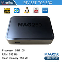 best accounting - Best Linux IPTV box Mag ip tv set top box Media player support Wifi usb connector Cable Not include IPTV account mag250