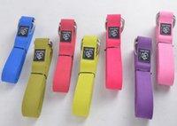 Wholesale Yoga Stretch Strap Training Belt Waist Leg Fitness Exercise Yoga Belt cm