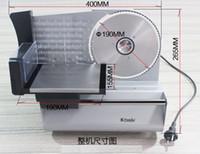 Wholesale 0 MM can adjust blades size Meat slicer butter cutter sausage slicer machine