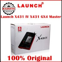 auto dealer sales - Authorized Dealer original LAUNCH X431 IV Master Update on official website x iv master auto car diagnostic scanner hot sales