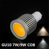 Wholesale MR16 V Warm White Pure Cold White led LIGHTING AC85 cob downlight Super Bright LED Bulb Lamp