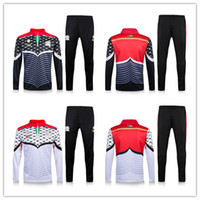 Wholesale New Palestine Maillot de foot tracksuits survetement football shirts long sleeves tight pants sportswear training suit soccer Uniforms