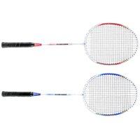 Wholesale New Badminton Set Set Durable Lightweight Aluminium Alloy Training Badminton Racket Racquet with Carry Bag Sport Equipment
