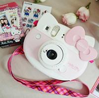 Wholesale Fujifilm instax mini HELLO KITTY camera Christmas gift for girl Fuji Anniversary Film Photo Paper Camera One Time Shot MINI Kamera