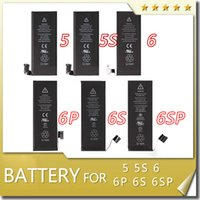Wholesale Battery For iphone Original New S P S SP Lithium Internal TOP Quality Replacement Built in Fast shipping DHL