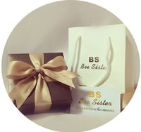 bee packages - BS Bee Sister Brand Original Package Gift Box With Paper Hand Bag Present Use Case