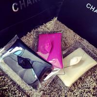 Wholesale Women Fashion Transparent Handbags Soft Plastics Messenger Clutch Clear Composite Bags Multi function Lady Evening Party bag