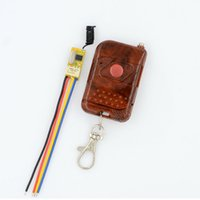 Wholesale DC3 V V Mini Relay Receiver Remote Control Switches DC3 V V V V V V V NO COM NC Micro Wireless LED Power Switch
