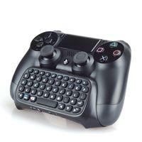Wholesale 2016 Play games Wireless Keyboard M Multi Media Remote Control Handheld PS4 gamepad Play Games Bluetooth Keybord