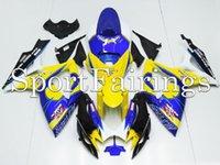 abs beer - Fairings Fit Suzuki GSXR600 K6 Year ABS Motorcycle Fairing Kit Bodywork Motorbike Cowling Corona Beer Yellow