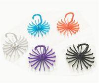 Wholesale Hot Four Colors Rotating Tie Rack Adjustable Tie Hanger Holds Neck Ties Organizer Men jy613