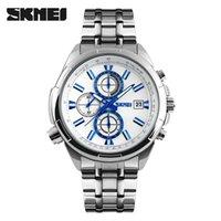 Cheap Hot Sale Skmei Fashion Men Quartz Watch Japan Movement Water Resistant Sport Style Stainless Steel Strap Wristwatches Male Clock relogio