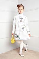 animal print formal dresses - Girls Dress Winter Brand Princess Dress Children Clothing Mouse Print Beading Kids Clothes Girls Dresses for Birthday