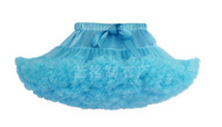 Wholesale 18 color Baby Girl s Solid Color DanceTutu Pettiskirt Christmas tutu skirt Butterfly Ruffle Pettiskirt princess dress kids boutique clothing