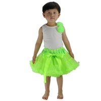 ballerina tutu kids - Children Girl Tutu Skirts Dancewear Ballerina Skirt Kids Fluffy Pettiskirt Performance Costume Princess Party Tulle Dance Wear UD0026