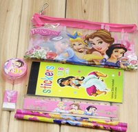 Wholesale PVC in1 Children Pencil Bags Cases Student Stationery School Supplies Bag Kids Cartoon Despicable Me Minions Frozen Mickey Pencils Pouches