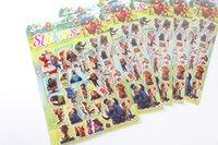 Wholesale 2016 Zootopia Stickers Nick Wilde Judy Hopps Kids Cartoon DIY Sticks Setero Stickers Kids Gift