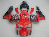 Prezzi Kit e bike-Sport Bike carenature per Honda CBR600RR 2003-2004 CBR600 RR kit F5 03-04 carenature del motociclo di mercato degli Carrozzeria carenature rosso e nero