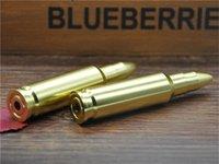 big gun pipes - Factory Price Big Size Gold Bullet Aluminum Metal Key Chian Smoking Pipe Head Gun Pistol Bullet Shape Tobacco Pipe
