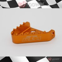 Wholesale BILLET KTM Brake pedal STEP TIPS SX EXC XCF ADVENTURE DUKE ORANGE COLOR