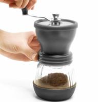 Wholesale New Portable HARIO Ceramic Burr Mini Mill Slim Manual Hand Coffee Grinder trending hot in