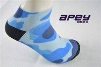 athletics slippers - APEY Man Sports leisure socks slipper in navy style color basketball socks for men breathable sports short elite socks