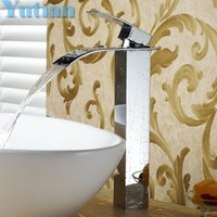 Wholesale Hot selling basin faucet bathroom faucet basin mixer basin tap waterfall faucet torneira YT