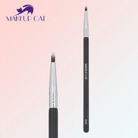 bent eyeliner brush - Eyeliner Makeup Brush Bent Double Synthetic Hair Eye liner Lips Brush eyeliner Brushing brushes Multifunction Makeup Tool B09