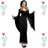 adult anime costumes - Halloween Witch Costumes For Women Anime Cosplay Sexy Dark Witch Black Costume Adult Carnival Costume Party Disfraces Carnival