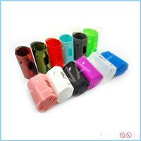 battery enclosure - Colorful RX200 Silicone Case Rubber Sleeve Protective Cover Skin Enclosure For RX200W TC Vape Mods battery mods
