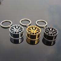 animal skeleton models - The new spot wheel model car modification parts creative alloy metal key chain s shop
