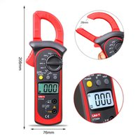 Wholesale UNI T UT200B Digital Clamp Meters LCD Backlight AC DC Voltage AC Current Resistance clamp multimeter multitester multimetro