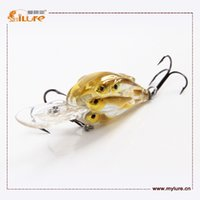 bait molds - Ilure High Quality Hard Plastic Fishing Lure Crank Fishing Lure Molds drop shipping