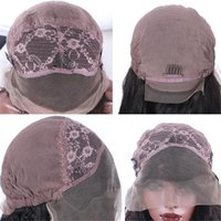 Wholesale Top Grade Lace Front Wigs Cap Swiss Lace Full Lace Wigs Caps For Making Wigs With Ajustable Straps and Combs